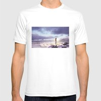 The Lost Story Mens Fitted Tee White SMALL
