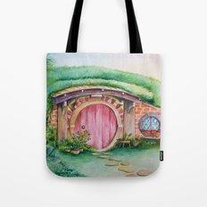 Hobbit Home 3 Tote Bag