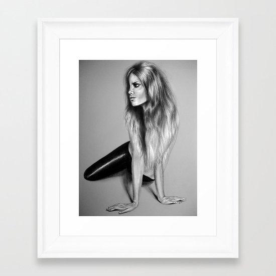 + CRAWL + Framed Art Print
