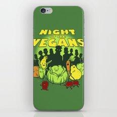Night of the Vegans iPhone & iPod Skin