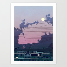 I Was Only Going Out Art Print