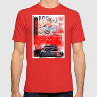 LUDWIG'S LAW Mens Fitted Tee Red SMALL