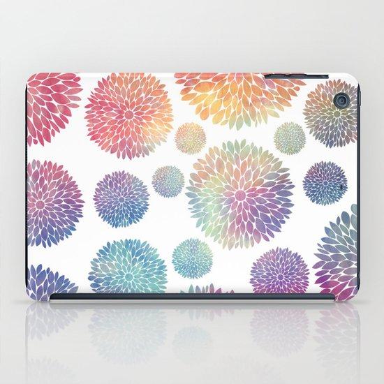 Watercolor Flowers iPad Case