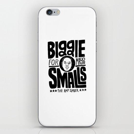 Biggie Smalls for Mayor iPhone & iPod Skin