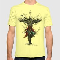 assassins creed Mens Fitted Tee Lemon SMALL
