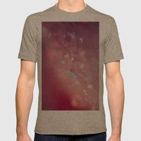 Crystallize Geometric Ma… Mens Fitted Tee Tri-Coffee SMALL