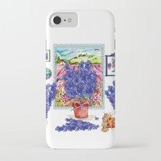 Arranging Delphinium iPhone 7 Slim Case