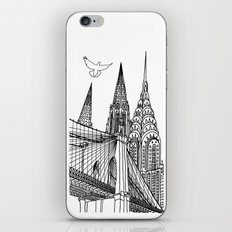 NYC Silhouettes iPhone & iPod Skin