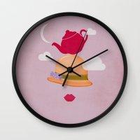 MRS CLOUD Wall Clock