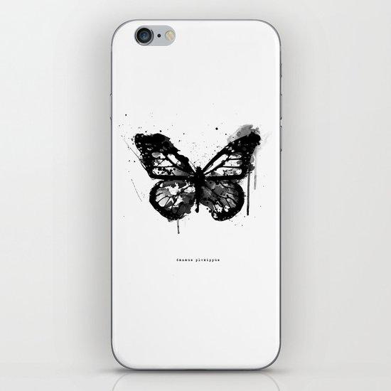 Black Monarch iPhone & iPod Skin