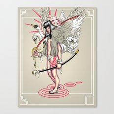 Sword of the Swans Canvas Print