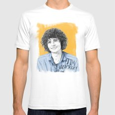 Tim Buckley SMALL Mens Fitted Tee White