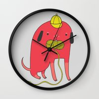 I'd Rather Eat Wool Than… Wall Clock