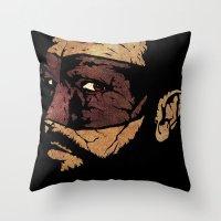 Uncle Hazard Throw Pillow