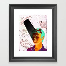 ALIENS BRO! Framed Art Print