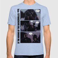 The Hound Of The Baskerv… Mens Fitted Tee Tri-Blue SMALL