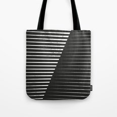 Black vs. White Tote Bag