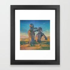 CONFLICT.1992 (everyday 05.07.16) Framed Art Print