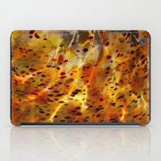 Abstract Red iPad Case