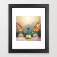 Aton Framed Art Print