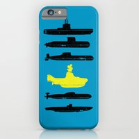iPhone & iPod Case featuring Know Your Submarines V2 by Resistance