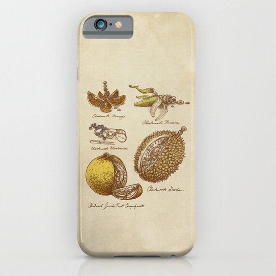 Clockwork Fruit  iPhone & iPod Case