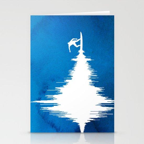 Soundwave Stationery Card