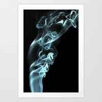 Smokey 8 Art Print