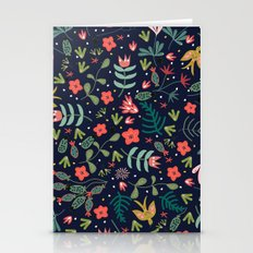 Flying Around in the Garden Stationery Cards