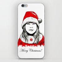 Snow-maiden iPhone & iPod Skin
