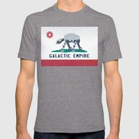 California Strikes Back Mens Fitted Tee Tri-Grey SMALL