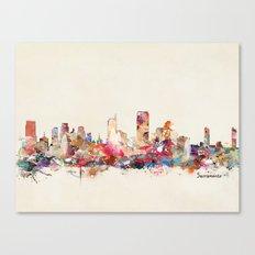 Sacramento California Canvas Print
