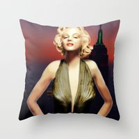 Marilyn Forever Throw Pillow