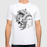 Indian Mens Fitted Tee Ash Grey SMALL