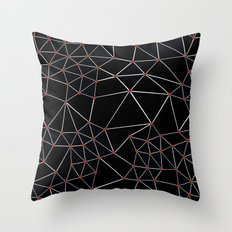 Seg with Red Spots Throw Pillow