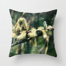 Magical spring Throw Pillow