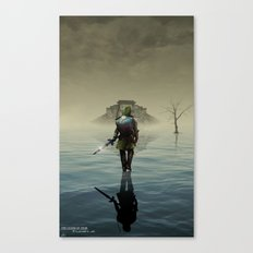 The hardest battle lies within Canvas Print