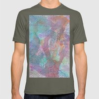 Words And Water Paint 2 Mens Fitted Tee Lieutenant SMALL