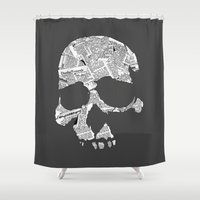 No News Is Good News Shower Curtain