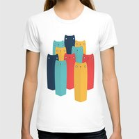 cats T-shirts featuring Cats by Volkan Dalyan