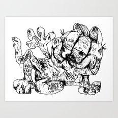 Fieldgar Art Print