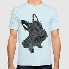 Scottie Mens Fitted Tee Light Blue SMALL