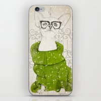 Hipster Chiuaua iPhone & iPod Skin