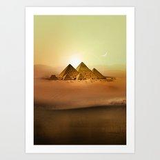 Station Pyramid Day Art Print