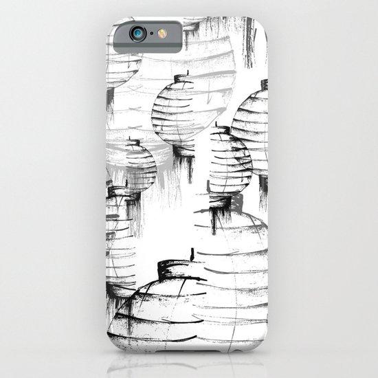 Lantern - white iPhone & iPod Case