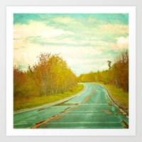Setting Forth Art Print