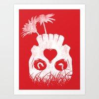 Love Is Where You Find I… Art Print
