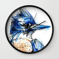 Belted and Brazen Wall Clock