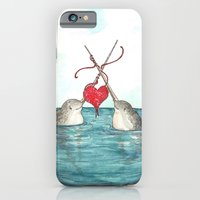 Knitting Narwhals iPhone 6 Slim Case
