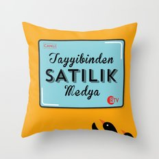 Penguen Throw Pillow